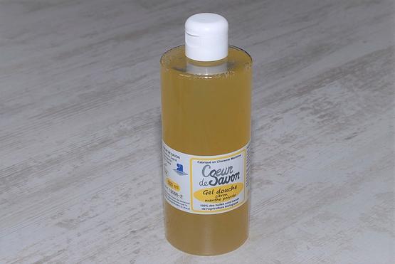 gel douche savon liquide citron menthe 500 bio