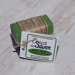 Savon boisé eucalyptus pain bio artisanal