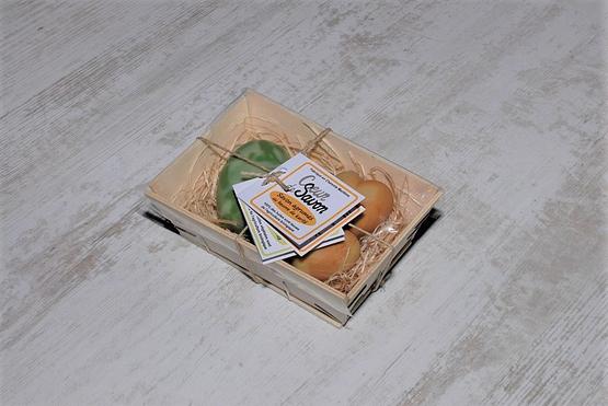 mini bourriche savons agrume amande cœur bio