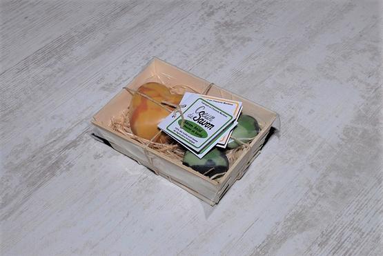 mini bourriche savons agrume boisébio