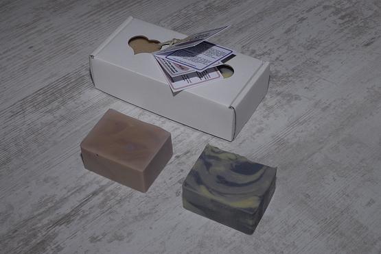 savon coffret cadeaux rose lavande artisanal bio charente