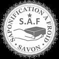 saponification a froid logo coeur de savon