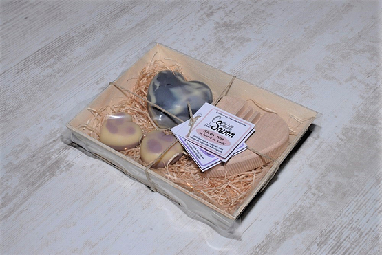Cœur de savon Charente maritime vrac artisanal