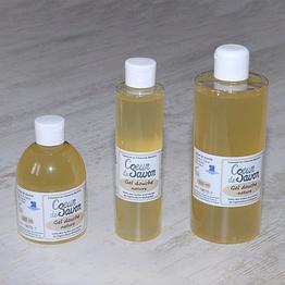 gel douche savon liquide nature bio artisanal