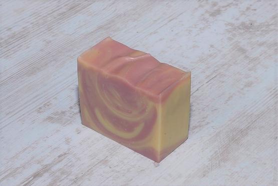Savon rose pain vrac artisanal