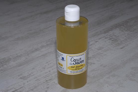 gel douche menthe citron familial