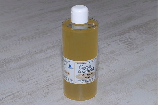 gel douche savon liquide nature bio artisanal 500