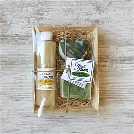 coffret cadeau saint-valentin coeur de savon pour lui