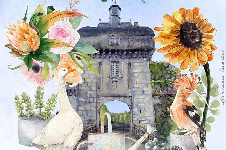 salon art jardin chateau mornay 11 12 septembre 2021