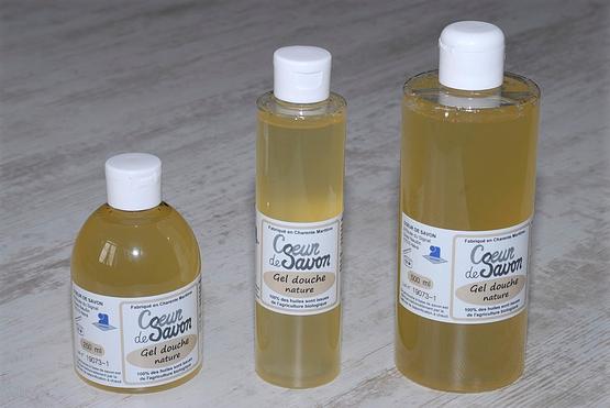 gels douche savon liquide nature sans parfum
