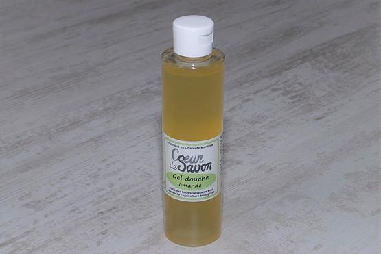 gel douche savon liquide amande bio 200