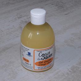 gel douche savon liquide 250 bio artisanal