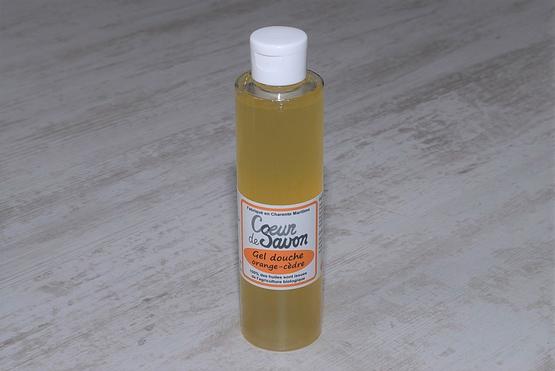 gel douche savon liquide orange 200 artisanal