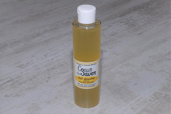 gel douche savon liquide citron menthe 200 bio
