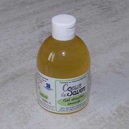 gel douche savon liquide amande bio local