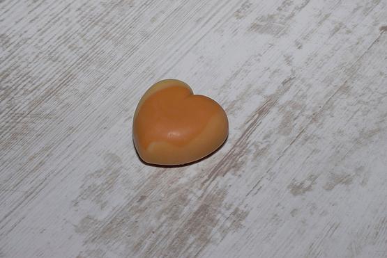 savon mini coeur agrumes